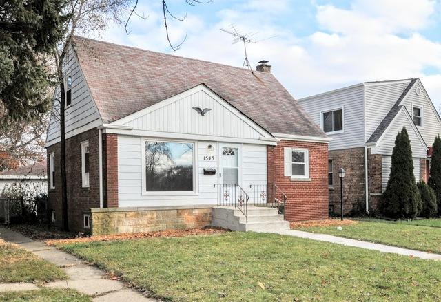 1543 Lincoln Avenue, Calumet City, IL 60409 (MLS #10251524) :: The Wexler Group at Keller Williams Preferred Realty