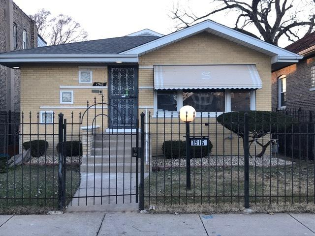 7916 S Indiana Avenue, Chicago, IL 60619 (MLS #10251595) :: The Wexler Group at Keller Williams Preferred Realty