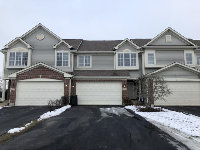 1109 Amber Drive #1109, Cary, IL 60013 (MLS #10253160) :: T2K Properties