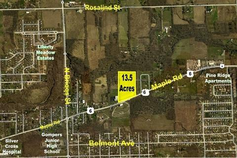 0 Route 6 & Maple Road, Joliet, IL 60432 (MLS #10253433) :: The Wexler Group at Keller Williams Preferred Realty