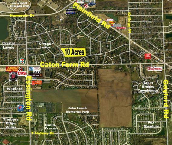 0 Chevy Chase Drive & Caton Farm Road, Joliet, IL 60435 (MLS #10253473) :: The Jacobs Group