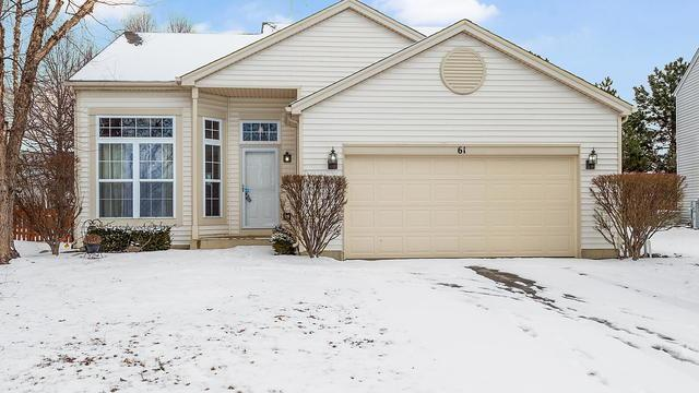 61 Kentland Drive, Romeoville, IL 60446 (MLS #10253801) :: Baz Realty Network   Keller Williams Preferred Realty
