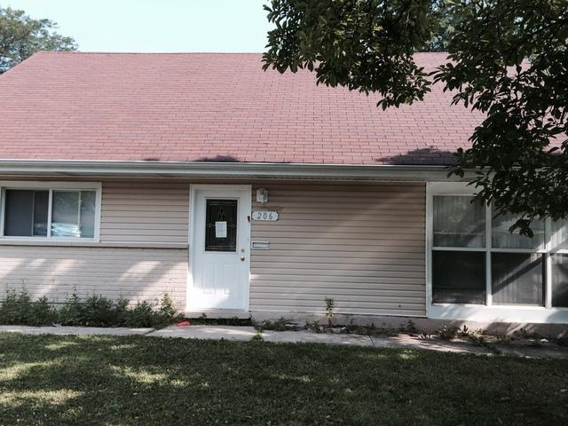 206 Gold Street, Park Forest, IL 60466 (MLS #10253951) :: The Wexler Group at Keller Williams Preferred Realty