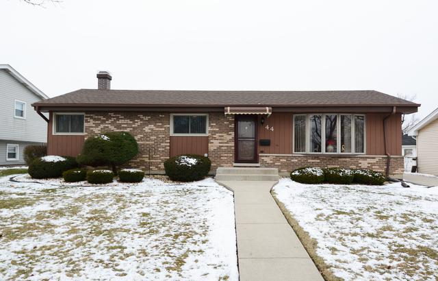 44 S Mill Road, Addison, IL 60101 (MLS #10254351) :: Baz Realty Network | Keller Williams Preferred Realty