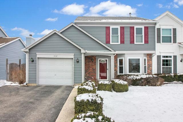 1512 Summerhill Drive, Mundelein, IL 60060 (MLS #10254578) :: Janet Jurich Realty Group