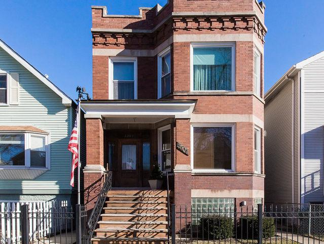 3307 N Seeley Avenue, Chicago, IL 60618 (MLS #10257069) :: Leigh Marcus | @properties