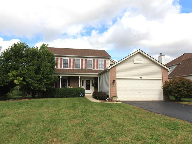1796 Pebblestone Drive, Romeoville, IL 60446 (MLS #10261105) :: Baz Realty Network   Keller Williams Preferred Realty