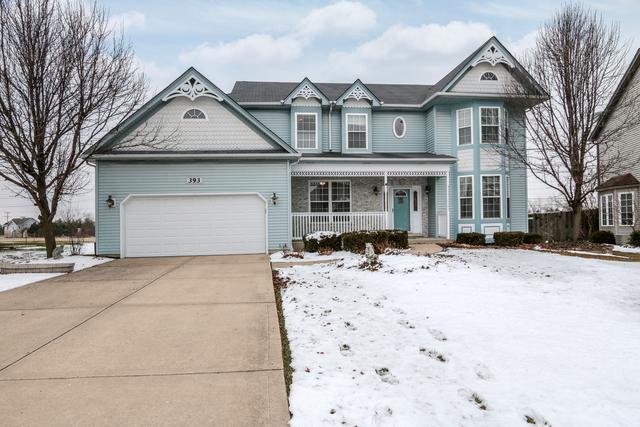 393 Essex Drive, Oswego, IL 60543 (MLS #10271234) :: The Dena Furlow Team - Keller Williams Realty