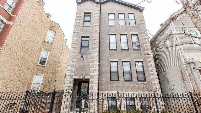 1920 W Crystal Street #3, Chicago, IL 60622 (MLS #10271679) :: The Perotti Group   Compass Real Estate