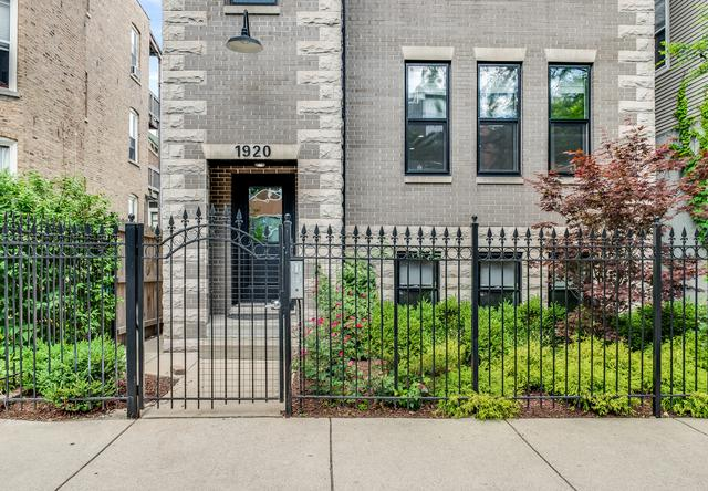 1920 W Crystal Street #1, Chicago, IL 60622 (MLS #10272255) :: Property Consultants Realty