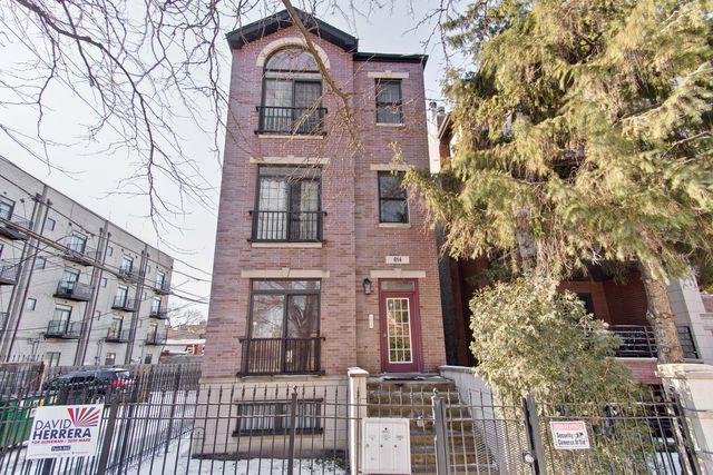 814 N Washtenaw Avenue #1, Chicago, IL 60622 (MLS #10272821) :: The Perotti Group | Compass Real Estate
