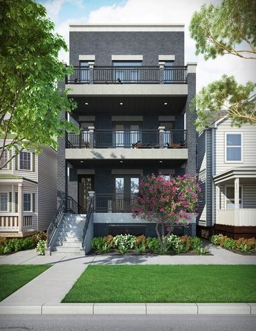 837 N Leavitt Street #2, Chicago, IL 60622 (MLS #10273003) :: Baz Realty Network | Keller Williams Preferred Realty
