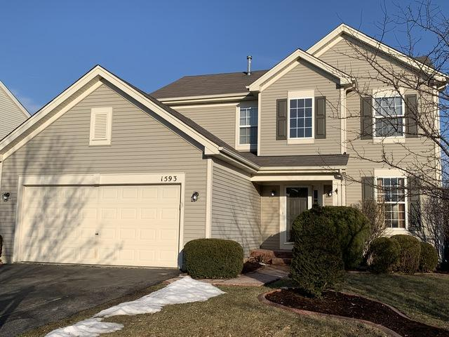 1593 Glenside Drive, Bolingbrook, IL 60490 (MLS #10273178) :: The Wexler Group at Keller Williams Preferred Realty