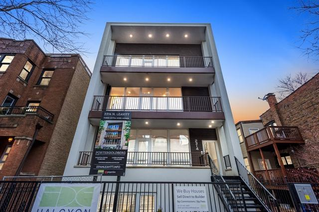 2314 N Leavitt Street #3, Chicago, IL 60647 (MLS #10274038) :: The Dena Furlow Team - Keller Williams Realty