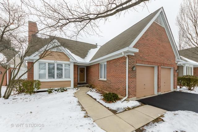 1714 N Lancaster Court #1714, Arlington Heights, IL 60004 (MLS #10274127) :: Baz Realty Network | Keller Williams Preferred Realty