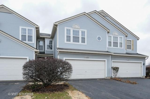 2485 Reflections Drive #2485, Aurora, IL 60502 (MLS #10274811) :: Baz Realty Network | Keller Williams Preferred Realty