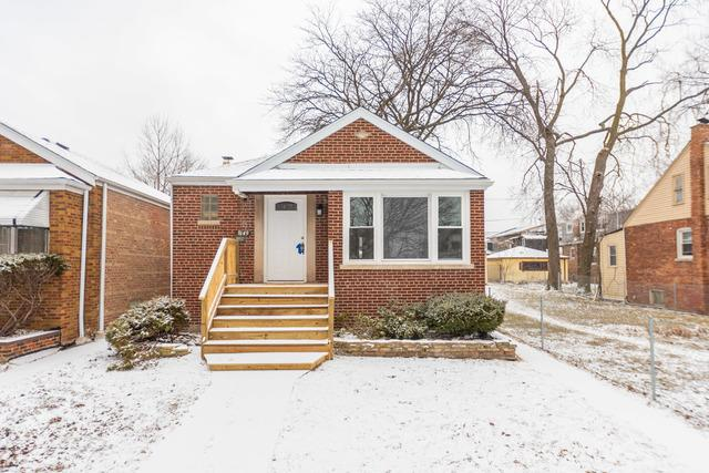 8149 S Calumet Avenue, Chicago, IL 60619 (MLS #10275546) :: The Mattz Mega Group