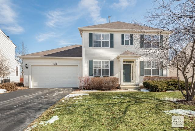 408 Kensington Drive, Oswego, IL 60543 (MLS #10276116) :: The Perotti Group   Compass Real Estate