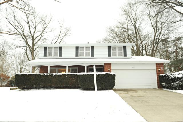 458 S Burno Drive, Palatine, IL 60067 (MLS #10276809) :: Helen Oliveri Real Estate