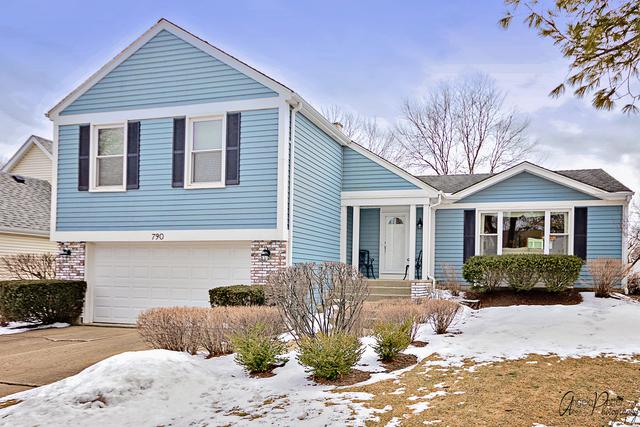 790 Kingsbridge Way, Buffalo Grove, IL 60089 (MLS #10277124) :: Century 21 Affiliated