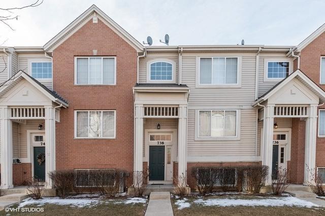 738 Hanbury Drive #738, Des Plaines, IL 60016 (MLS #10277378) :: Helen Oliveri Real Estate