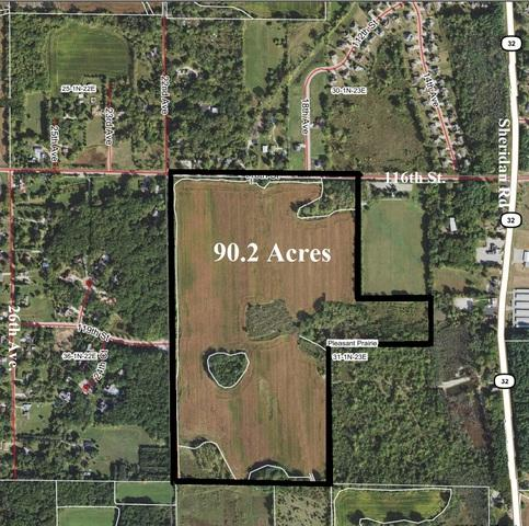 90.2 ac 116th Street, Pleasant Prairie, WI 53158 (MLS #10277545) :: Helen Oliveri Real Estate
