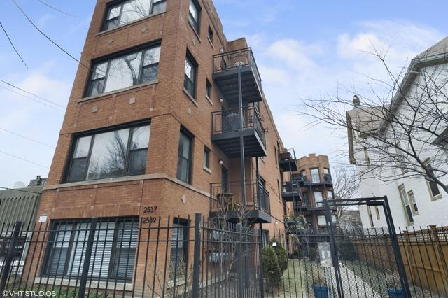 2537 N Sawyer Avenue 1B, Chicago, IL 60647 (MLS #10278769) :: Property Consultants Realty