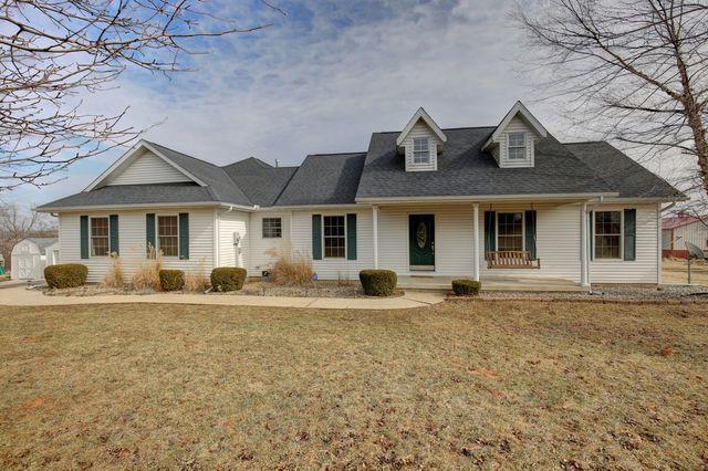 1273 N 350 East Road, MONTICELLO, IL 61856 (MLS #10281301) :: Ryan Dallas Real Estate