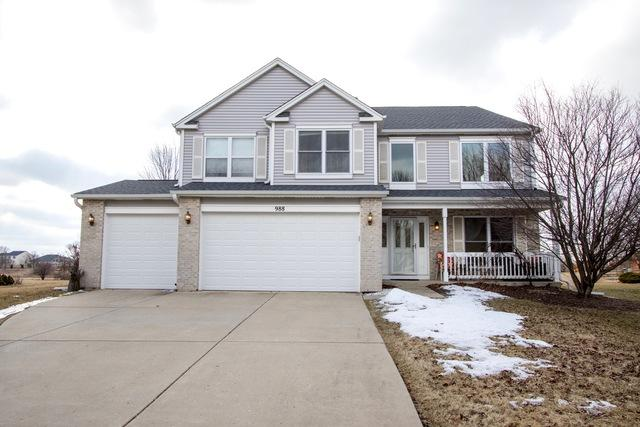 988 Martinson Court, North Aurora, IL 60542 (MLS #10296397) :: Baz Realty Network | Keller Williams Preferred Realty