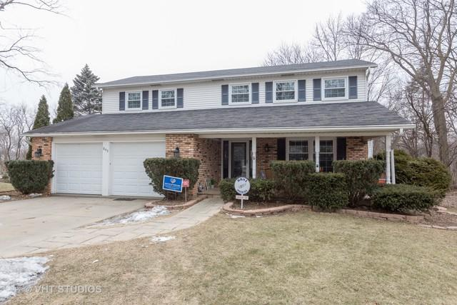 845 Rossmere Court, Naperville, IL 60540 (MLS #10297455) :: The Dena Furlow Team - Keller Williams Realty