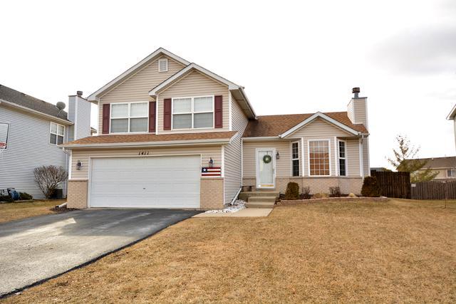 1411 Major Drive, Plainfield, IL 60586 (MLS #10299933) :: Ryan Dallas Real Estate