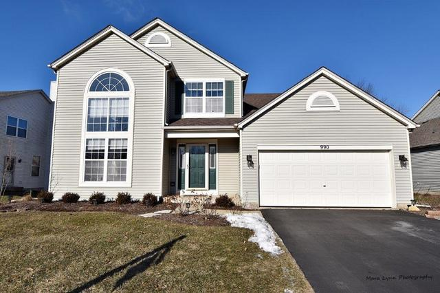 990 Wilkinson Lane, North Aurora, IL 60542 (MLS #10300310) :: Baz Realty Network | Keller Williams Preferred Realty