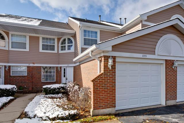 855 W Happfield Drive #0, Arlington Heights, IL 60005 (MLS #10301625) :: The Dena Furlow Team - Keller Williams Realty