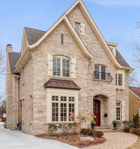 428 Colfax Avenue, Clarendon Hills, IL 60514 (MLS #10302396) :: The Dena Furlow Team - Keller Williams Realty