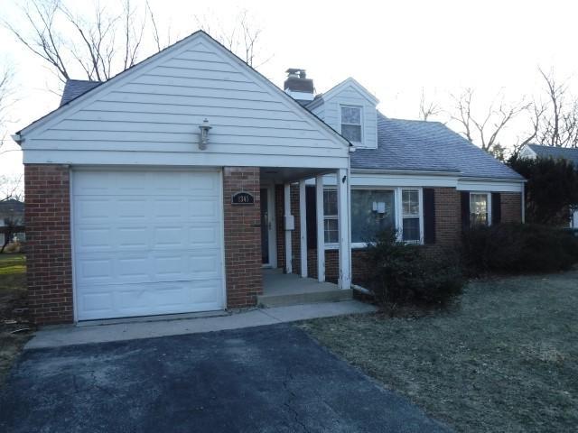 1345 Bunker Avenue, Flossmoor, IL 60422 (MLS #10302891) :: The Dena Furlow Team - Keller Williams Realty
