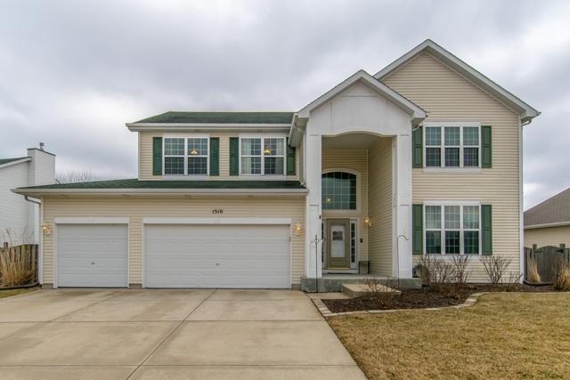1510 Parkside Drive, Plainfield, IL 60586 (MLS #10303493) :: Century 21 Affiliated
