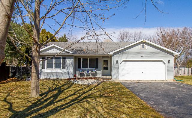 967 Sarah Street, Lake Holiday, IL 60548 (MLS #10306163) :: HomesForSale123.com