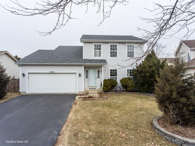 2467 Warm Springs Lane, Naperville, IL 60564 (MLS #10307357) :: Helen Oliveri Real Estate