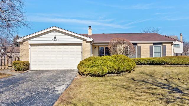 540 Hamilton Avenue, Westmont, IL 60559 (MLS #10307905) :: HomesForSale123.com