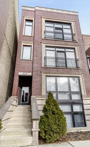 1113 N Hermitage Avenue #3, Chicago, IL 60622 (MLS #10309341) :: John Lyons Real Estate