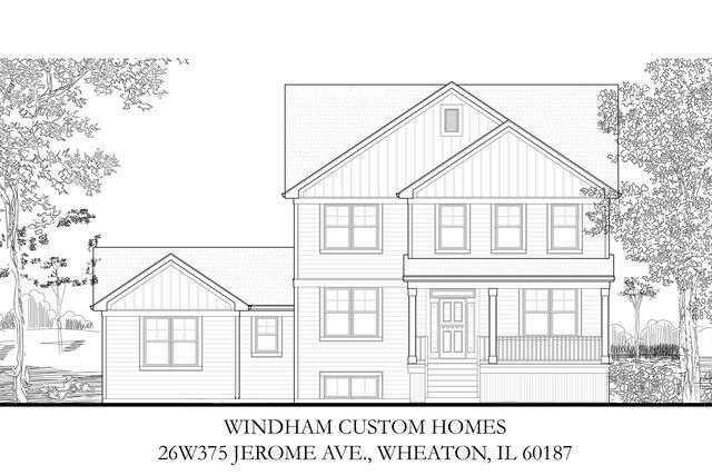 26W375 Jerome Avenue, Wheaton, IL 60187 (MLS #10309589) :: Ryan Dallas Real Estate