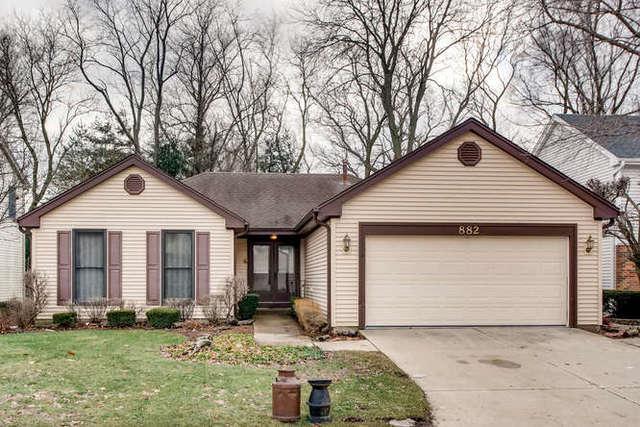 882 Shambliss Lane, Buffalo Grove, IL 60089 (MLS #10310532) :: Helen Oliveri Real Estate