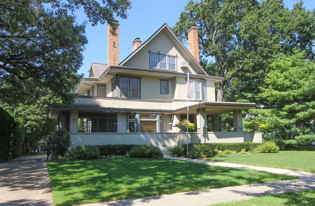554 Thatcher Avenue, River Forest, IL 60305 (MLS #10311270) :: The Dena Furlow Team - Keller Williams Realty