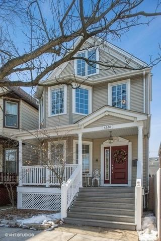 4220 N Damen Avenue, Chicago, IL 60618 (MLS #10311450) :: Leigh Marcus | @properties
