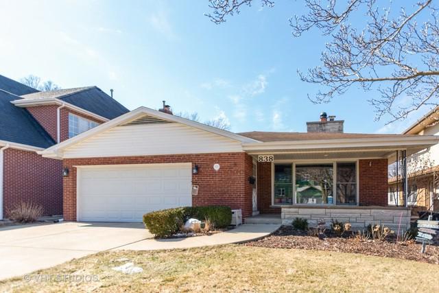 838 S Stone Avenue, La Grange, IL 60525 (MLS #10311821) :: The Dena Furlow Team - Keller Williams Realty