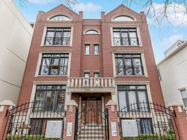 873 N Marshfield Avenue #2, Chicago, IL 60622 (MLS #10312619) :: Property Consultants Realty
