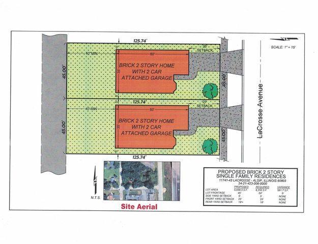 11741-43 Lacrosse Avenue, Alsip, IL 60803 (MLS #10313278) :: Berkshire Hathaway HomeServices Snyder Real Estate