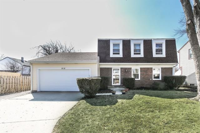916 Knollwood Drive, Buffalo Grove, IL 60089 (MLS #10314409) :: Century 21 Affiliated