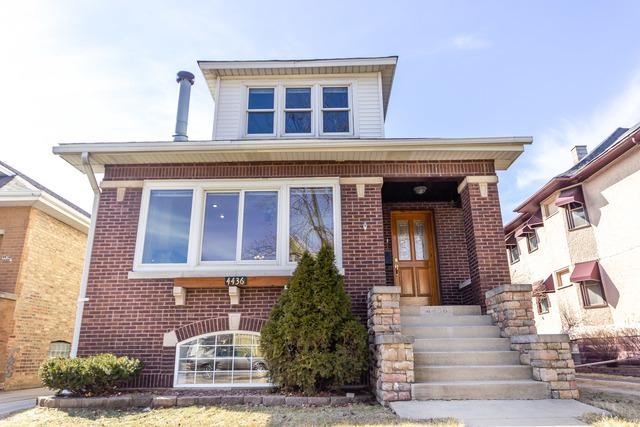 4436 N Kostner Avenue, Chicago, IL 60630 (MLS #10315996) :: The Dena Furlow Team - Keller Williams Realty