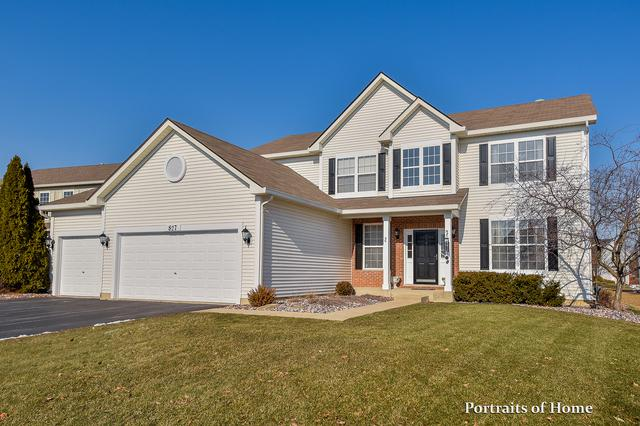 827 Spring Creek Circle, Naperville, IL 60565 (MLS #10316629) :: Helen Oliveri Real Estate
